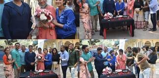 Rajan Shahi celebrates Shivangi Joshi's mom's birthday Pics